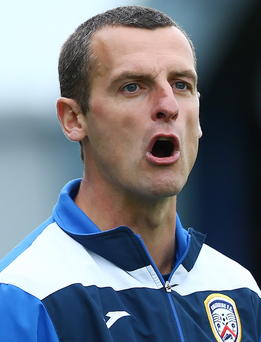 Vision: Oran Kearney is keen to develop younger players