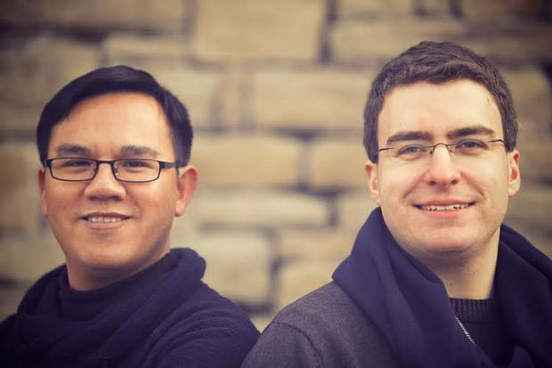 Smyles founders Cao Hung Nguyen and Marius Jeskulke