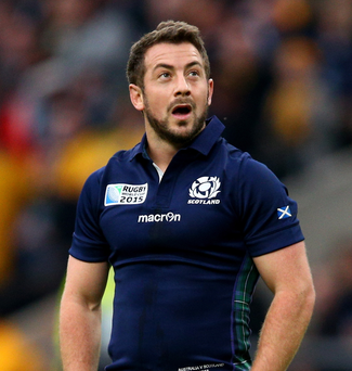 Nominated: Greig Laidlaw up for World Player of the Year