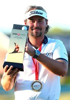 Victor Dubuisson won the Turkish Airlines Open for the second time in three years