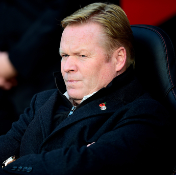 Southampton manager Ronald Koeman defended his side's performance