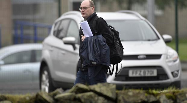 Press Eye - Northern Ireland - 3rd November 2015 Photographer: Stephen Hamilton General views Michelin factory in Ballymena, Michelin, Ballymena, Bad news expected ahead of staff meeting today. The company has not said what the meeting is for, but political sources have told the BBC