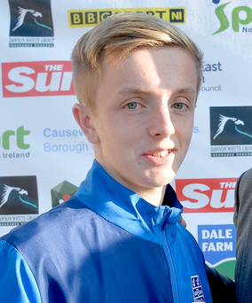 Jack Chambers of Linfield and Banbridge Academy scored the only goal early in the second-half