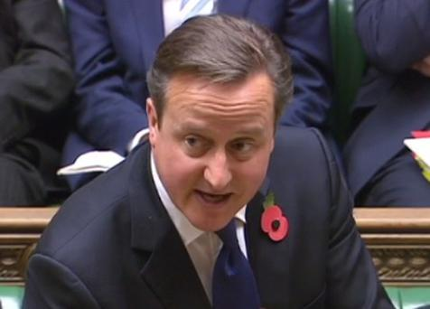 David Cameron was responding to Nigel Dodds during Prime Ministers' Questions.