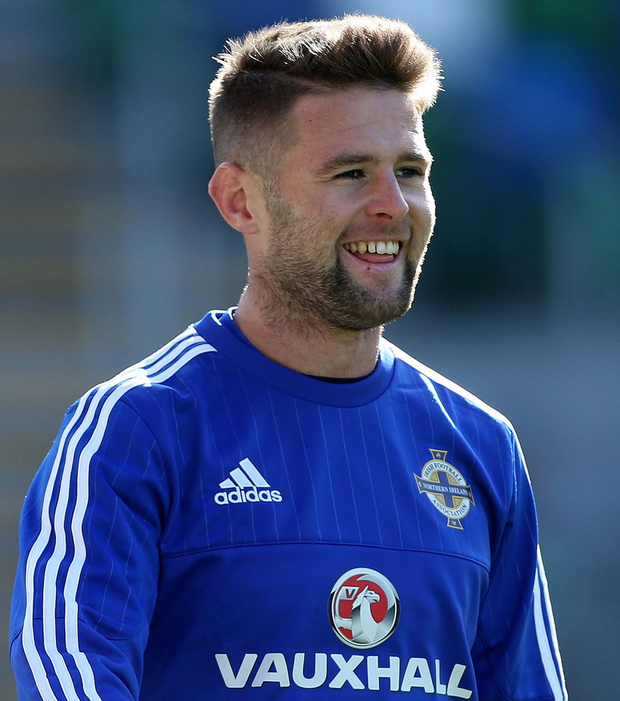 Perfect 10: Oliver Norwood played in all 10 Euro 2016 qualifiers