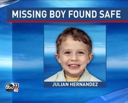 Julian Hernandez was reported missing by his mother in August 2002 ABC/Youtube