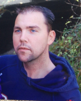 Missing man Christopher McKinstry Pic. PSNI