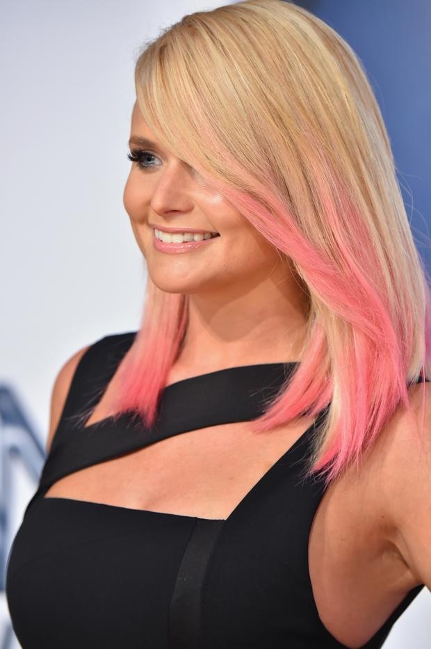 Singer Miranda Lambert attends the 49th annual CMA Awards at the Bridgestone Arena on November 4, 2015 in Nashville, Tennessee. (Michael Loccisano/Getty Images)
