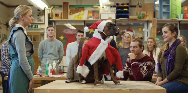 Seasonal hit: the supermarket's new festive TV advert is a veritable cracker which sums up the season for many of us