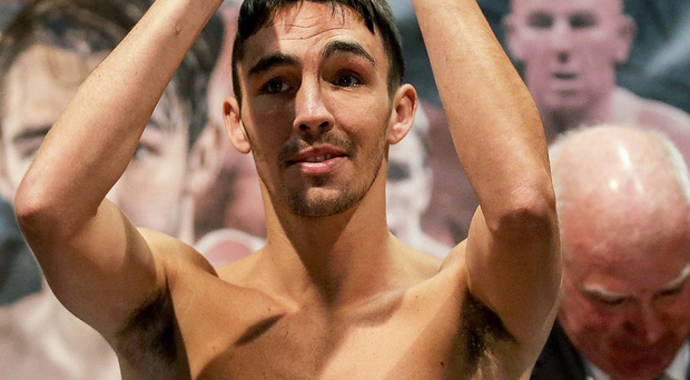 Fight night: Jamie Conlan boxes in Dublin tonight