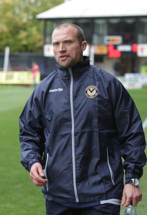 Impact: Warren Feeney has made a big difference already as assistant boss at Newport County