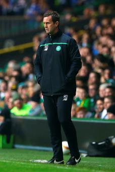 On the line: Ronny Deila says he knows what he is building to give Celtic the long awaited success in Europe
