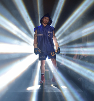 Showdown: IBF world super-bantamweight champion Carl Frampton