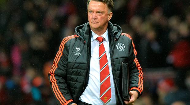 Plea: Louis van Gaal says fans should lay off Man United's players