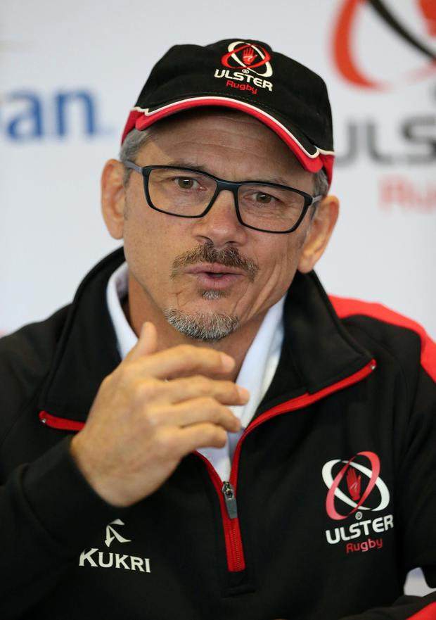 In charge: Les Kiss is set for his first game at Ulster's helm