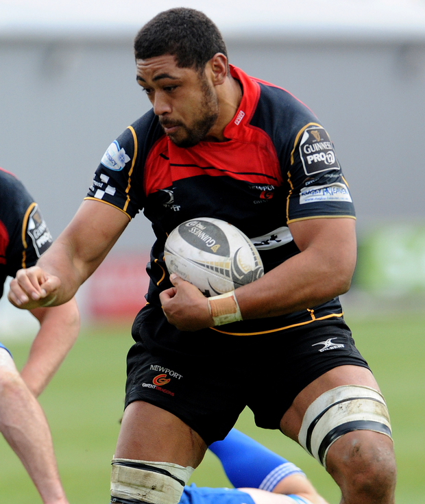 Man in demand: Taulupe 'Toby' Faletau's move to Bath was blocked by the WRU but he may leave Dragons after this season