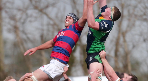 Held up: Johnny Simpson is coming in for Ballynahinch