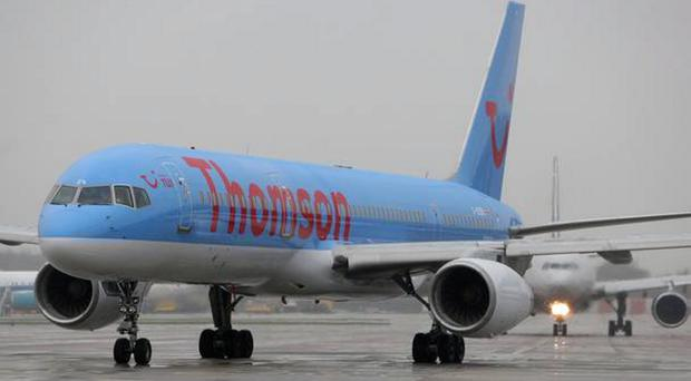 According to one report, a missile came within 1,000 feet of a Thomson flight