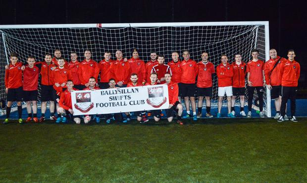 Ballysillan Swifts are a club moving in the right direction