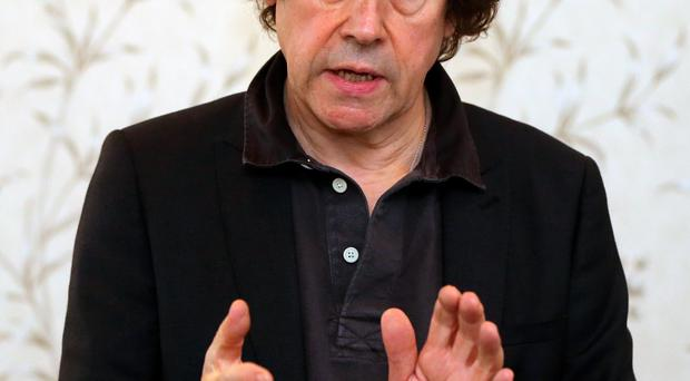 Actor Stephen Rea, takes part in a Reclaim the Vision of 1916 event in Dublin this afternoon. PRESS ASSOCIATION Photo. Picture date: Wednesday November 4, 2015. Reclaim the Vision of 1916 believes there can be no equivalence between those who died in the struggle to create an Irish Republic and those who perished in defence of the British Empire. 'Imagine the British authorities erecting a plaque at the cenotaph in London to honour those gallant members of the Luftwaffe who perished in the bombing raids on London during World War 2', says artist Robert Ballagh. 'In honouring everyone in general we commemorate nobody in particular.' Photo credit should read: Niall Carson/PA Wire