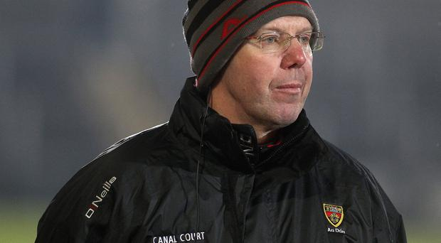 No illusions: New Down boss Eamonn Burns wants to remain in Division One but knows how difficult a task it will be