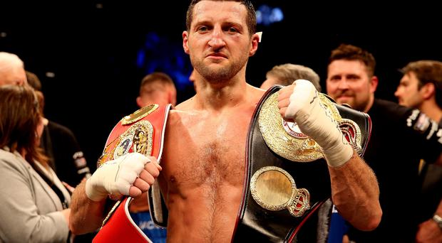 Strong belief: Carl Froch says he could win another World crown