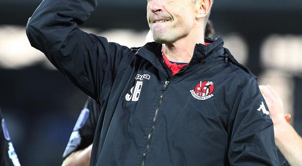 Quality: Stephen Baxter's men look like they are a cut above