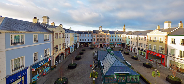 Lisburn Square has been given a revamp