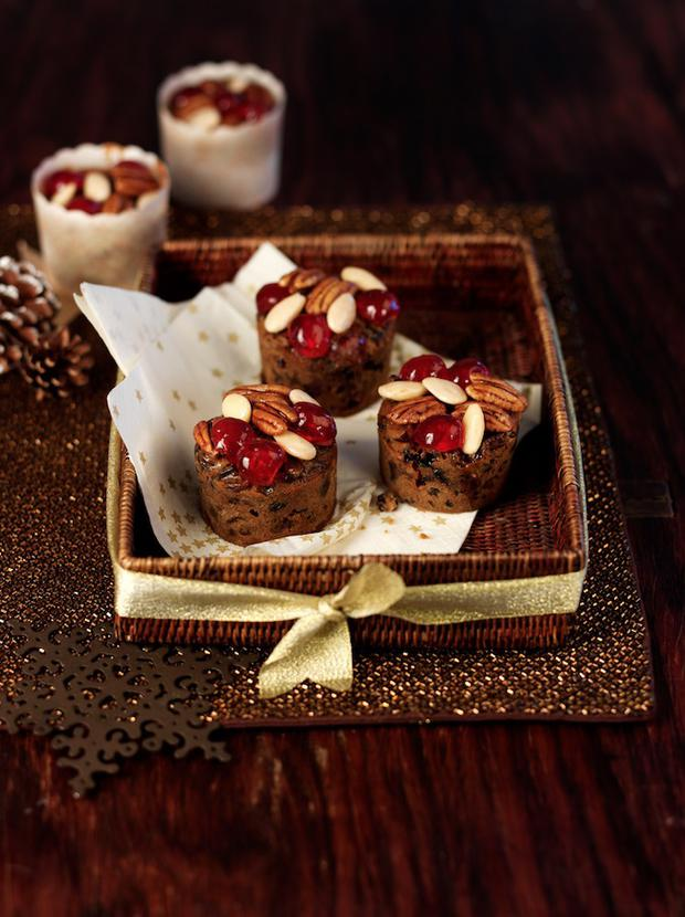 Right Rum Christmas Cake Muffins