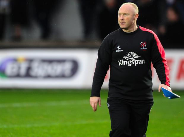 Ulster head coach Neil Doak