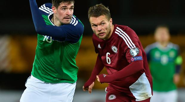 Striker: Kyle Lafferty needs to get game time