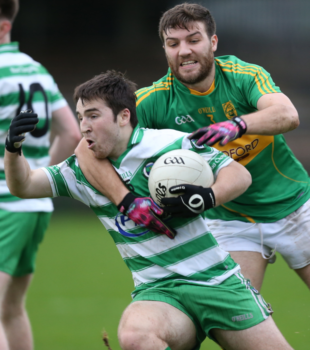 Hands on: Eunan Murray of Faughanvale with Dean Dolan
