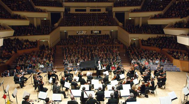 The Ulster Orchestra continued to demonstrate its pulling power at the Ulster Hall on Friday. Stock image