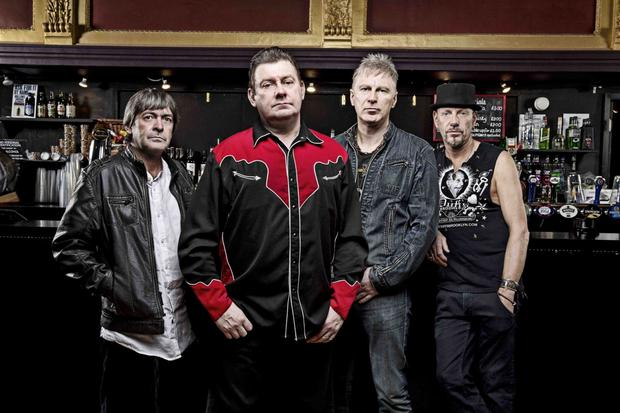 Stiff Little Fingers - Portraits...Stiff Little Fingers press shot 2012 November 12, 2012 © Ashley Maile