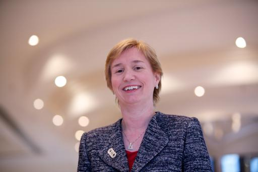 Fujitsu chief executive for UK and Ireland, Regina Moran
