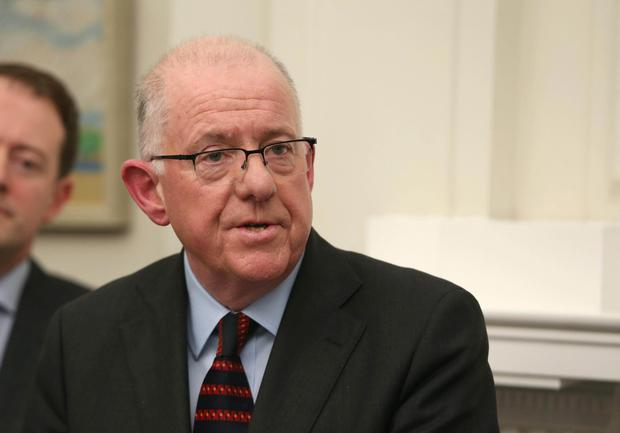 Irish Foreign Minister Charlie Flanagan. Photo: Matt Mackey/Presseye