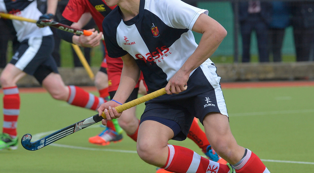 Potential matchwinner: Wallace High's Matthew Nelson leads Ulster U18s in the inter-provincials