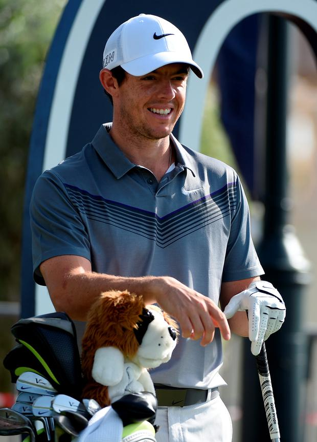 Title bid: Rory McIlroy aims to end the season on a high