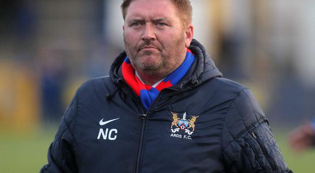 Cup run: Niall Currie has sights set on semi-finals