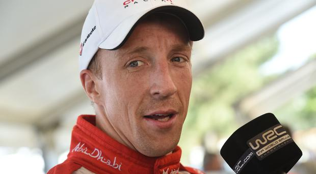 Safety call: Kris Meeke