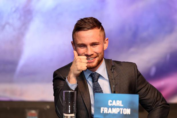 Press Eye Ltd Northern Ireland-18th November 2015 Mandatory Credit-Brian Little /Presseye/Cyclone Promotions Carl Frampton Vs Scott Quigg- Press Tour Wednesday 18th November Grand Ballroom,Europa Hotel,Great Victoria St.Belfast