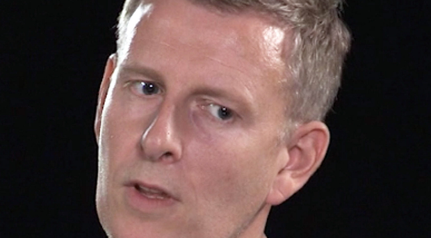 Patrick Kielty in his interview with Eamon Mallie