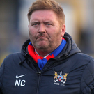 Ards' manager Niall Currie