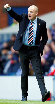 Rangers' manager Mark Warburton during the Ladbrokes Scottish Championship match at the Ibrox Stadium, Glasgow. PRESS ASSOCIATION Photo. Picture date: Saturday November 7, 2015. See PA story SOCCER Rangers. Photo credit should read: Danny Lawson/PA Wire