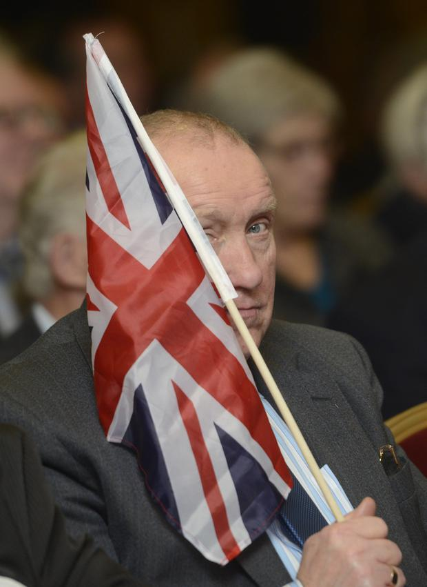 The DUP annual conference at the La Mon Hotel in Belfast Pic Colm Lenaghan/Pacemaker