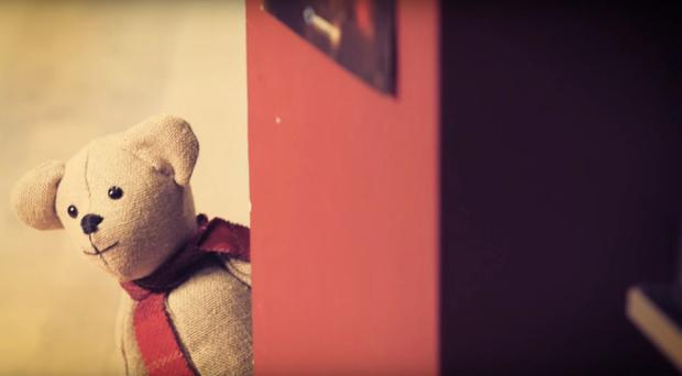 The Ballymena Christmas advert follows a bear as it searches for the child it was made for. Pic: Youtube.