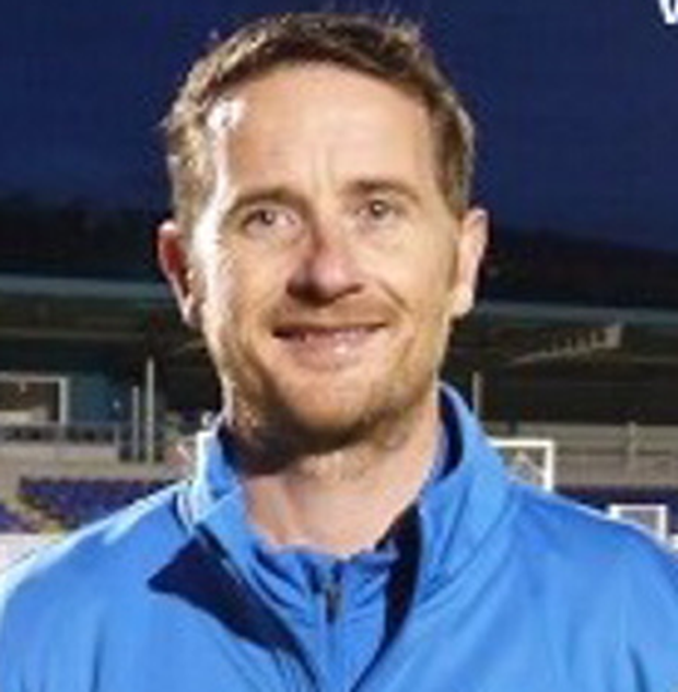 Newry City AFC manager Darren Mullen (pic courtesy of www.newrycityafc.co.uk)