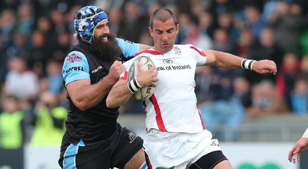 Ulster's Ruan Pienaar in action