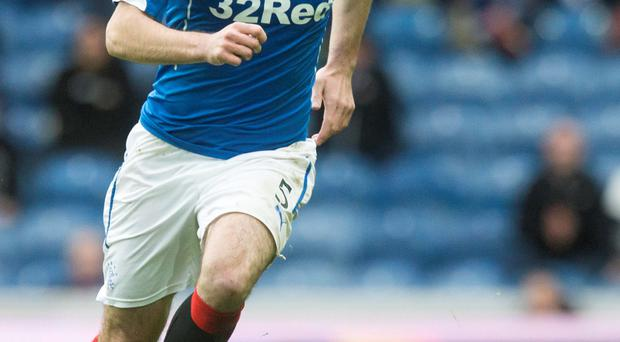 Staying focused: Lee Wallace is paying no attention to Hibs