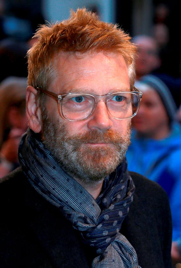 LONDON, ENGLAND - SEPTEMBER 14: Kenneth Branagh attends the press night of